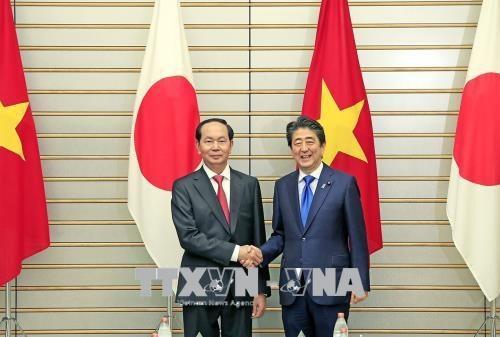 Visita de presidente Dai Quang abre nueva fase para relaciones Vietnam-Japon, segun vicecanciller hinh anh 2