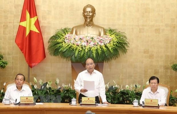 Gobierno de Vietnam destaca avances economicos en cinco meses hinh anh 1