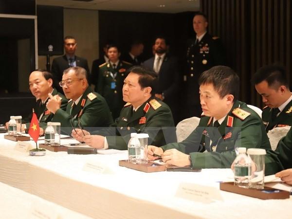 Dialogo Shangri-La: Vietnam afirma que respeto a leyes internacionales es base para la paz hinh anh 1