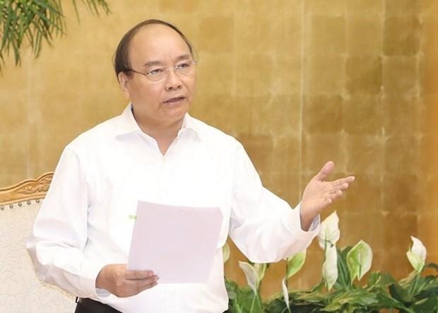 Premier de Vietnam insta a actualizar objetivos de crecimiento economico trimestral hinh anh 1