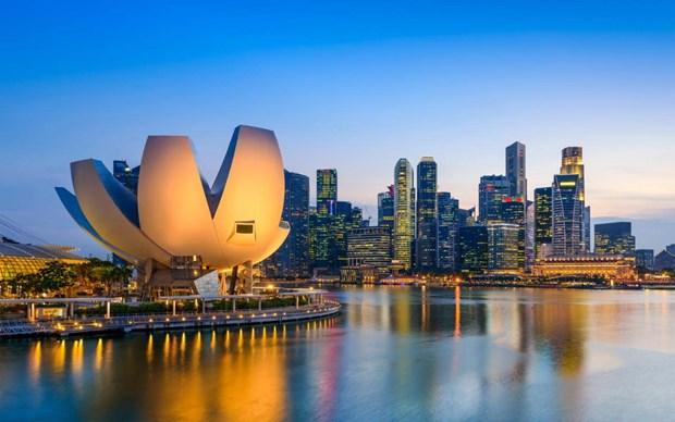 Singapur financiara una parte de la cumbre entre Trump y Kim hinh anh 1