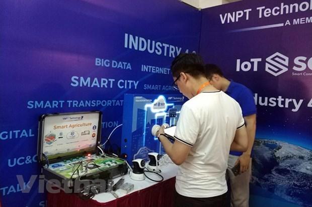 Inauguraran exposiciones internacionales sobre tecnologia informatica en Vietnam hinh anh 1