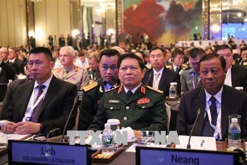 Culmina el XVII Dialogo de Shangri-La en Singapur hinh anh 1