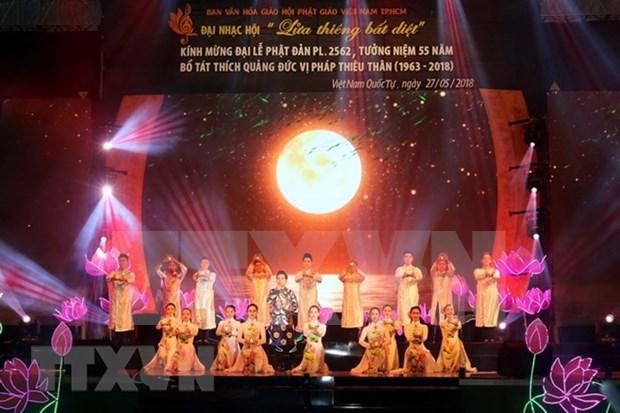 Rinden en Vietnam homenaje a Bodhisattva Thich Quang Duc hinh anh 1