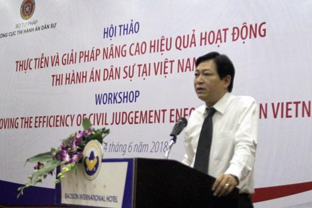 Vietnam y Estados Unidos cooperan para mejorar efectividad de ejecucion de casos civiles hinh anh 1