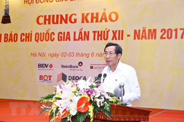 Premio Nacional de Prensa de Vietnam 2017 honra a 105 obras hinh anh 1