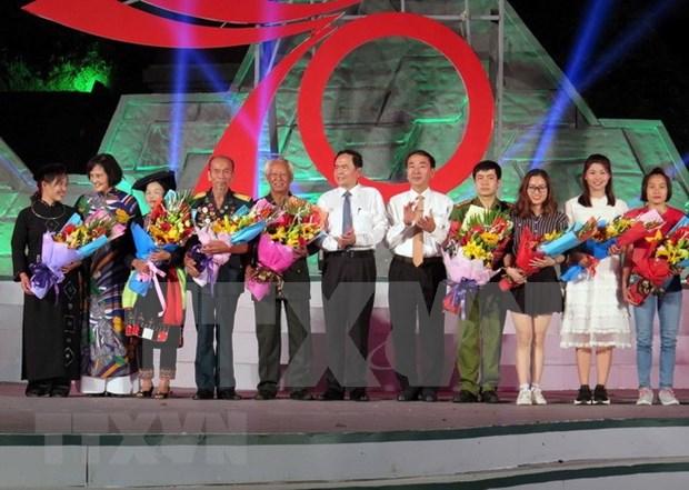Programa televisivo recuerda llamamiento de Ho Chi Minh a emulacion patriotica hinh anh 1