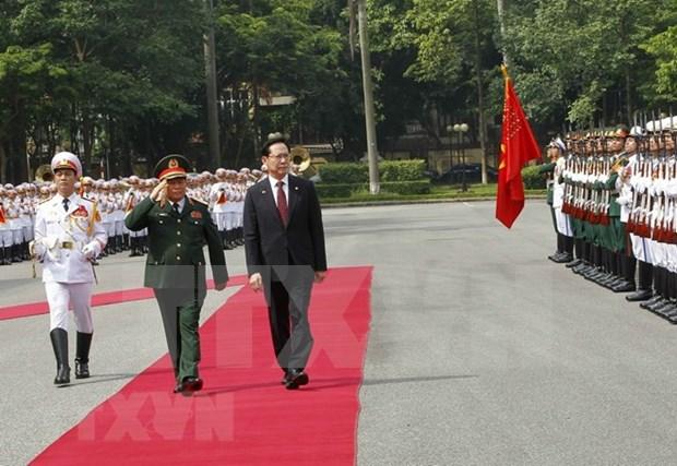 Vietnam y Corea del Sur firman memorando en asistencia humanitaria hinh anh 1