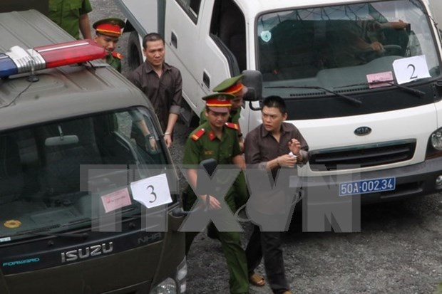 Inician juicio de apelacion contra grupo terrorista en Vietnam hinh anh 1