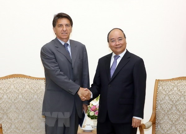 Premier de Vietnam aboga por estrechar lazos con Grecia hinh anh 1