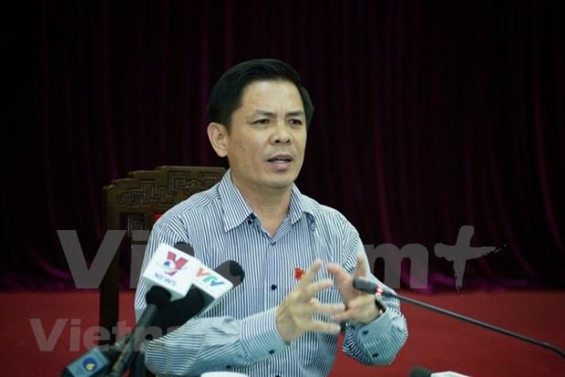 Ministro de Transporte de Vietnam rinde cuenta ante Parlamento hinh anh 1