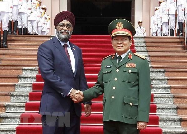 Vietnam y Canada robustecen lazos en defensa hinh anh 1