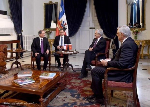 Vietnam y Chile impulsan lazos de amistad y cooperacion hinh anh 1