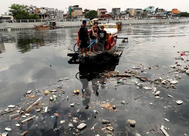 Filipinas adopta acciones para limpiar el contaminado rio Pasig hinh anh 1