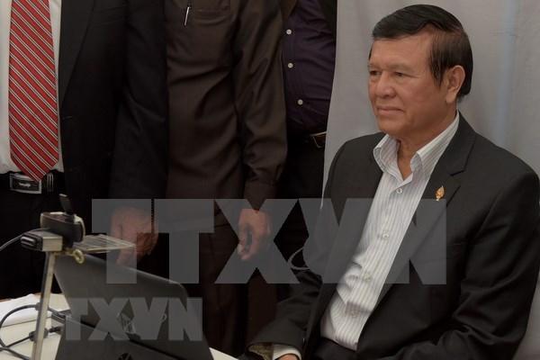 Tribunal de Camboya rechaza solicitud de libertad provisional de exlider opositor hinh anh 1