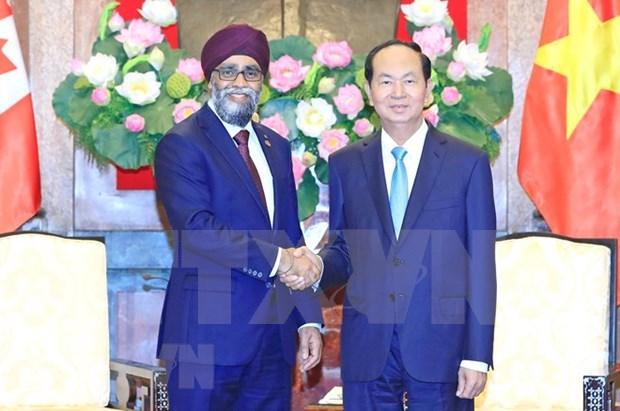 Canada aspira a fortalecer cooperacion con Vietnam en defensa, afirma ministro hinh anh 1
