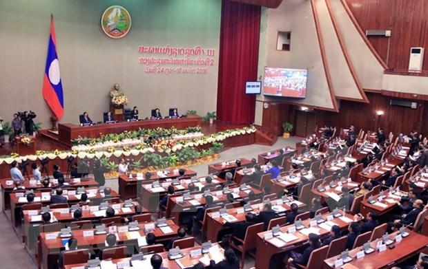 Inauguran quinto periodo de sesiones de la Asamblea Nacional de Laos hinh anh 1