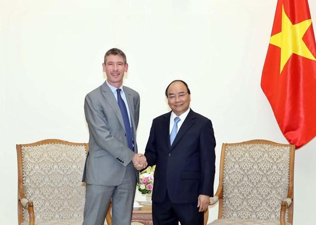 Premier de Vietnam propone impulso de cooperacion con Reino Unido en sector de educacion hinh anh 1