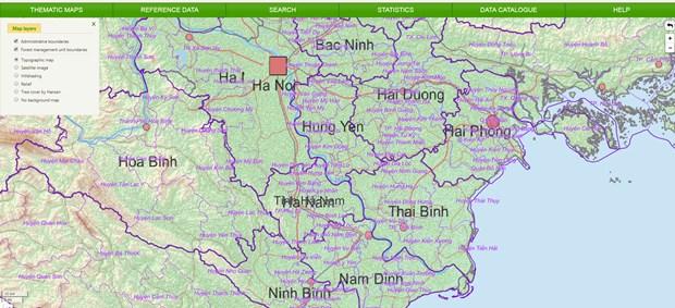 Vietnam estrena portal nacional de datos sobre recursos forestales hinh anh 1