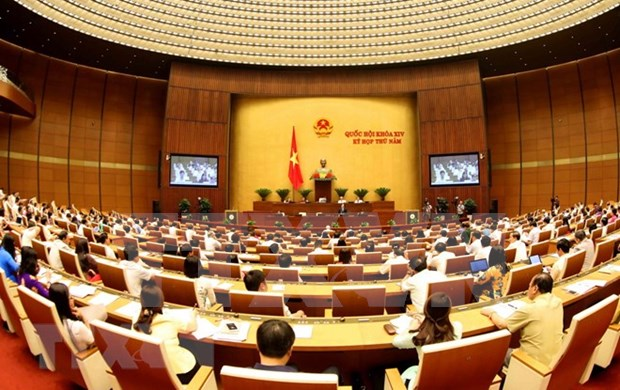 Presidenta del Parlamento vietnamita reconoce calidad de interpelaciones hinh anh 1