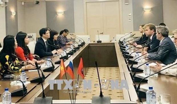 Provincia norvietnamita busca promover nexos con Rusia hinh anh 1