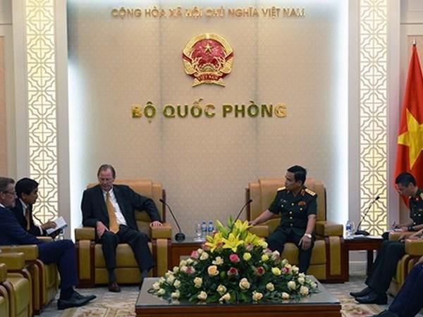 Grupo holandes de astillero Damen aspira a fomentar cooperacion con Vietnam hinh anh 1