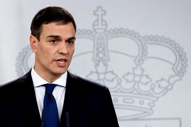Vietnam felicita al nuevo presidente de Espana hinh anh 1