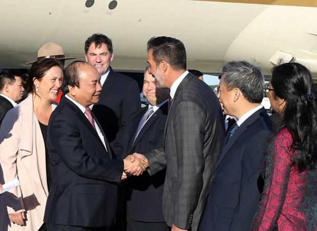 Premier de Vietnam llega a Quebec para asistir a Cumbre de G7 y visitar Canada hinh anh 1