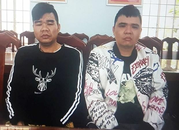 Policia vietnamita entrega a China criminales buscados internacionalmente hinh anh 1