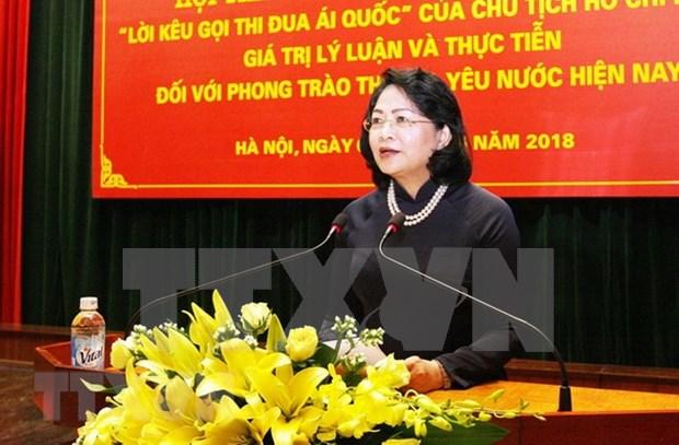 Llamamiento del presidente Ho Chi Minh al pueblo mantiene plena vigencia hinh anh 1