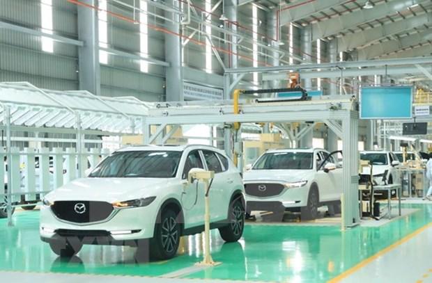Unos 800 mil coches podran circular en Vietnam para 2025 hinh anh 1