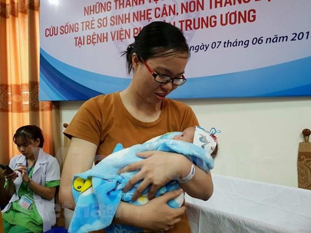 Bebe prematuro de 500 gramos sobrevive en Vietnam gracias a esfuerzos medicos locales hinh anh 1