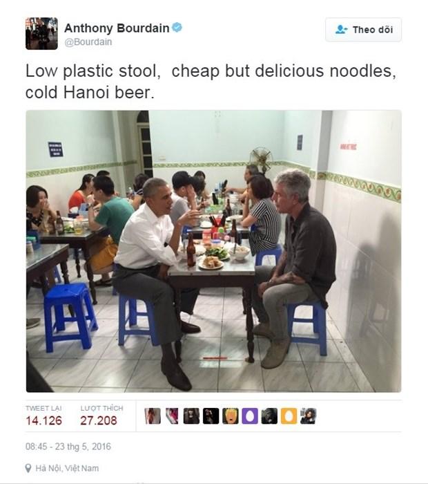 Se suicida famoso chef Anthony Bourdain, amante del bun cha de Hanoi hinh anh 1