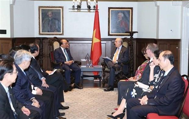 Premier de Vietnam reconoce aportes de OCDE al desarrollo socioeconomico del pais hinh anh 1