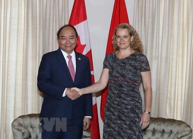 Premier de Vietnam afirma atencion de su gobierno al desarrollo de lazos con Canada hinh anh 1
