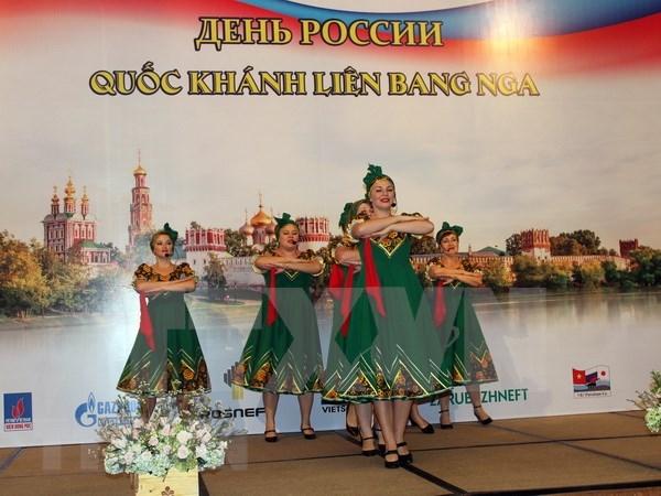 Celebran Dia Nacional de Rusia en Ciudad Ho Chi Minh hinh anh 1