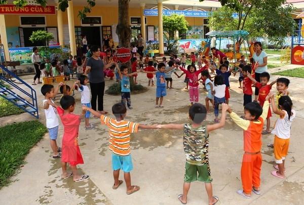 Sudcorea financia proyectos de bienestar social en provincia centrovietnamita hinh anh 1