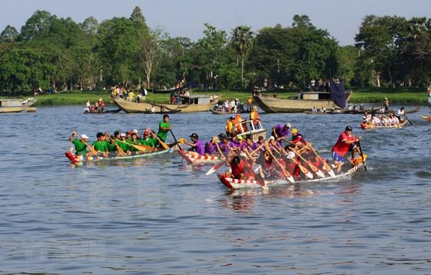 Inauguran concurso nacional de remo tradicional en Binh Thuan hinh anh 1