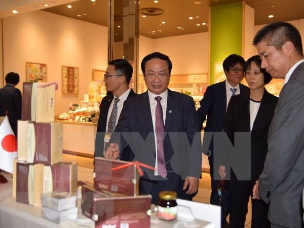 Empresas vietnamitas impulsan acciones comerciales en mercado de Japon hinh anh 1
