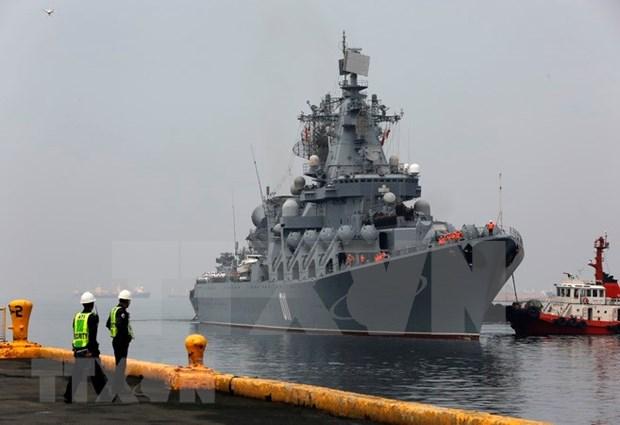 Buques de guerra rusos llegan a Filipinas hinh anh 1