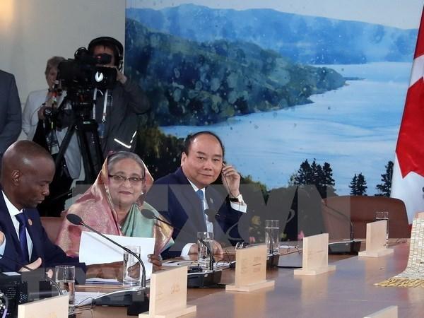Pagina web de APF Canada publica articulo sobre participacion vietnamita en Cumbre del G7 hinh anh 1