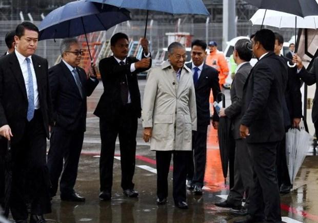 Primer ministro de Malasia visita Japon hinh anh 1
