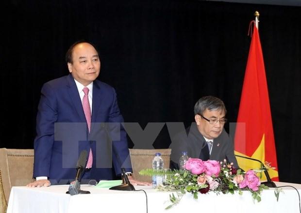 Vietnam facilita repatriacion de connacionales residentes en Canada, sostuvo premier Xuan Phuc hinh anh 1