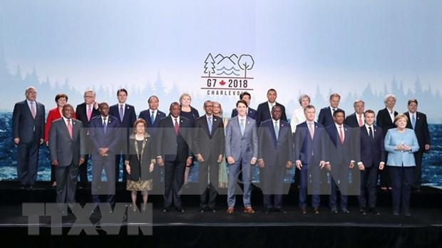 Destacan logros de Vietnam en Cumbre ampliada de G7 hinh anh 1