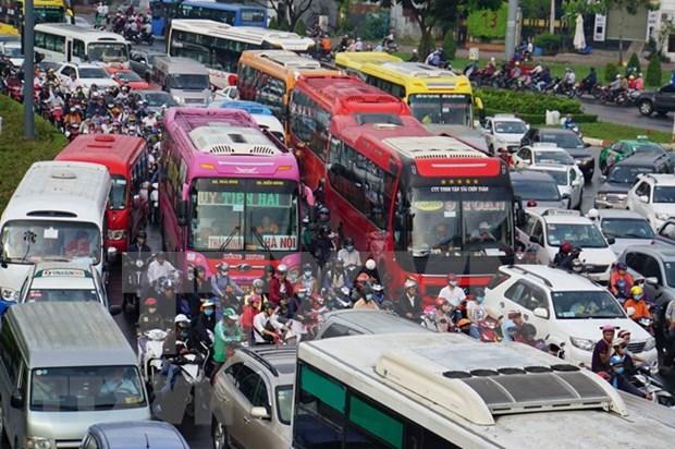 Aerolinea de Vietnam advierte sobre congestion del transito cerca del aeropuerto Tan Son Nhat hinh anh 1