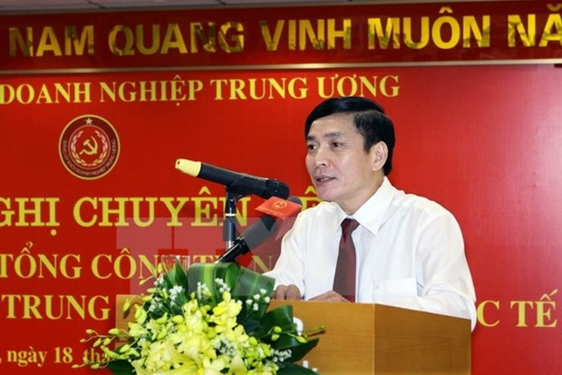 Jefe sindical vietnamita llama a trabajadores a proteger orden social hinh anh 1