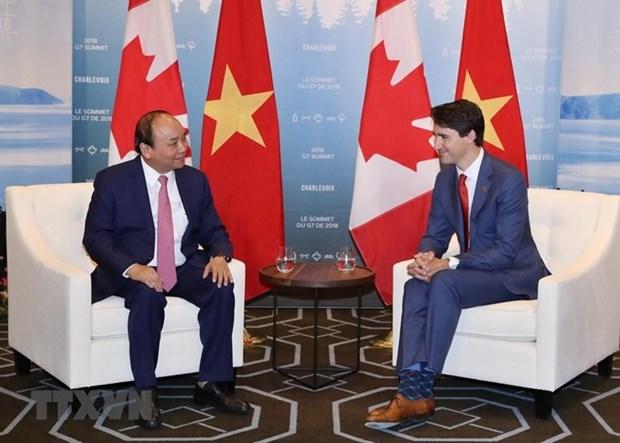 Destaca premier de Canada participacion de Vietnam en la Cumbre G7 hinh anh 1