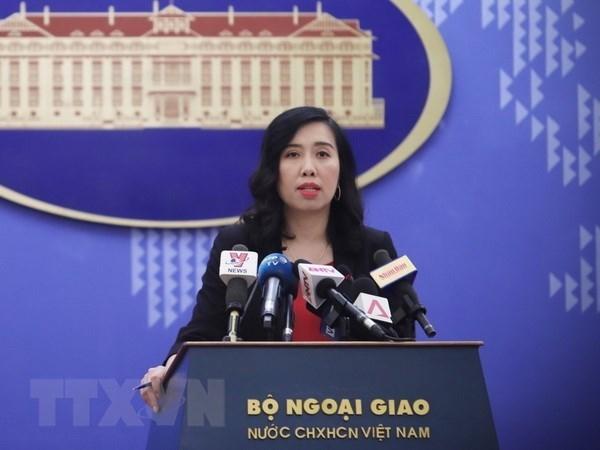 Vietnam valora altamente resultados de la cumbre Trump- Kim hinh anh 1