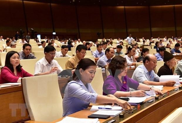 Asamblea Nacional de Vietnam aprueba tres proyectos de leyes hinh anh 1