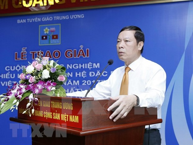 Entregaran en Vietnam premio de informacion para el exterior en otro idioma hinh anh 1